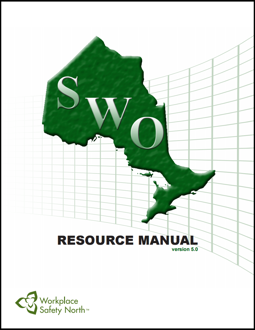Cover of Safe Workplace Ontario Certification Program Resource Manual
